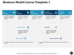 Business Model Canvas Value Propositions