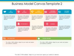 Business Model Canvas Value Propositions Ppt Powerpoint Presentation Portfolio