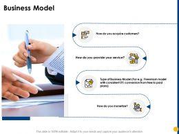 Business Model Conversion Plans Ppt Powerpoint Presentation Model Portrait