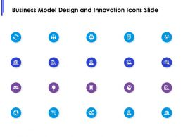 Business Model Design And Innovation Icons Slide Target L626 Ppt Powerpoint