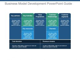 Business Model Development Powerpoint Guide