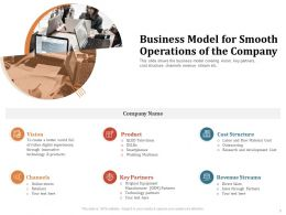 Business Model For Smooth Operations Of The Company Original Ppt Powerpoint Presentation Styles