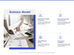 Business Model Freemium Paid Ppt Powerpoint Presentation Professional Layouts