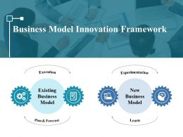Business Model Innovation Framework Ppt Styles Format