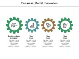 Business Model Innovation Ppt Powerpoint Presentation File Outline Cpb