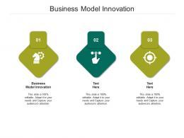 Business Model Innovation Ppt Powerpoint Presentation Summary Slide Cpb