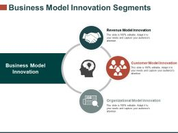 Business Model Innovation Segments Ppt Sample Presentations