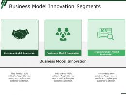 Business Model Innovation Segments Ppt Summary Slide Download