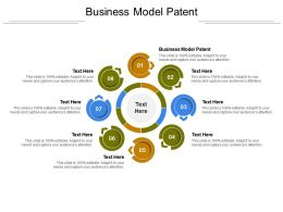 Business Model Patent Ppt Powerpoint Presentation Summary Example File Cpb