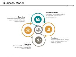 Business Model Ppt Powerpoint Presentation Infographic Template Deck Cpb