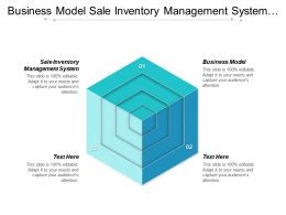 Business Model Sale Inventory Management System Customer Service Skills Cpb