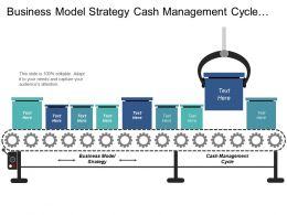 Business Model Strategy Cash Management Cycle Customer Segmentation Cpb