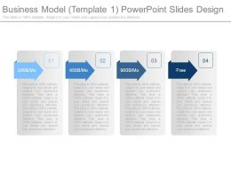 Business Model Template1 Powerpoint Slides Design