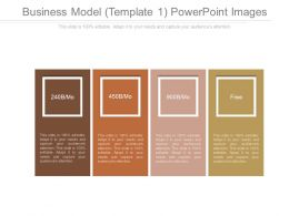 Business Model Template 1 Powerpoint Images