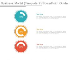 Business Model Template 2 Powerpoint Guide