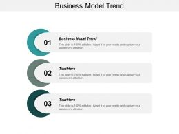 Business Model Trend Ppt Powerpoint Presentation Gallery Layout Cpb