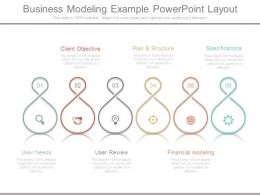 Business Modeling Example Powerpoint Layout