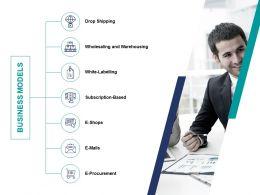 Business Models Procurement Ppt Powerpoint Presentation Ideas