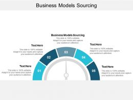Business Models Sourcing Ppt Powerpoint Presentation File Professional Cpb