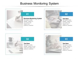 Business Monitoring System Ppt Powerpoint Presentation Gallery Brochure Cpb