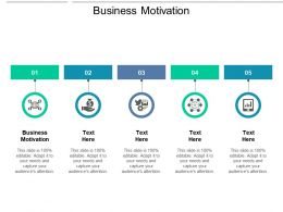Business Motivation Ppt Powerpoint Presentation Slides Ideas Cpb
