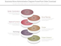 Business Move Administration Diagram Powerpoint Slide Download
