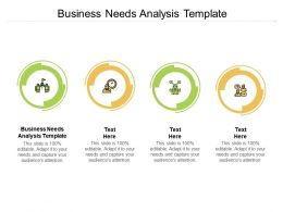 Business Needs Analysis Template Ppt Powerpoint Presentation Summary Brochure Cpb