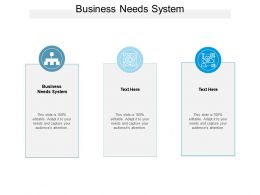 Business Needs System Ppt Powerpoint Presentation Portfolio Design Inspiration Cpb