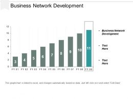 Business Network Development Ppt Powerpoint Presentation Gallery Style Cpb