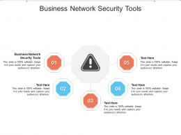 Business Network Security Tools Ppt Powerpoint Presentation Icon Picture Cpb