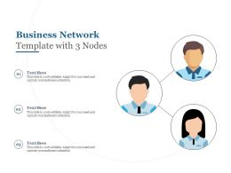Business Network Template With 3 Nodes