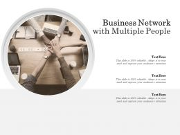 Business Network With Multiple People