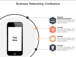 Business Networking Conference Ppt Powerpoint Presentation Ideas Graphics Tutorials Cpb