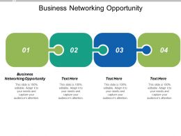 Business Networking Opportunity Ppt Powerpoint Presentation Pictures Topics Cpb
