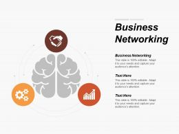 Business Networking Ppt Powerpoint Presentation Layouts Infographic Template Cpb