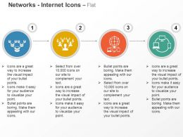 Business Networking Social Communication Client Server Ppt Icons Graphics