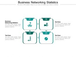 Business Networking Statistics Ppt Powerpoint Presentation Ideas Graphic Tips Cpb