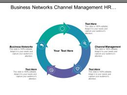 Business Networks Channel Management Hr Services Project Management Cpb
