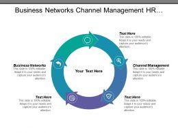 Business Networks Channel Management Hr Services Project Management Cpb