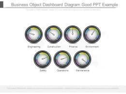 Business Object Dashboard Diagram Good Ppt Example