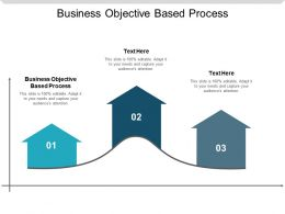 Business Objective Based Process Ppt Powerpoint Presentation Slides Examples Cpb