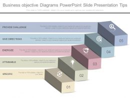 Business Objective Diagrams Powerpoint Slide Presentation Tips
