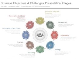 Business Objectives And Challenges Presentation Images