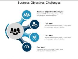 Business Objectives Challenges Ppt Powerpoint Presentation File Graphics Tutorials Cpb