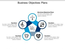 Business Objectives Plans Ppt Powerpoint Presentation File Background Cpb