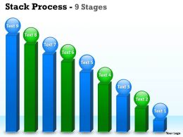Business Objectives Stack Diagram With 9 Stages