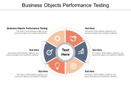 Business Objects Performance Testing Ppt Powerpoint Presentation Icon Graphic Tips Cpb