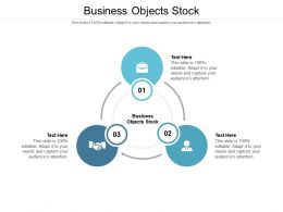 Business Objects Stock Ppt Powerpoint Presentation Slides Visuals Cpb
