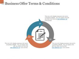 Business Offer Terms And Conditions Powerpoint Show