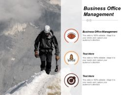 Business Office Management Ppt Powerpoint Presentation Icon Designs Download Cpb